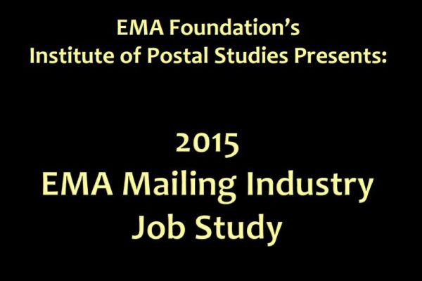 2015 Mailing Industry Job Study
