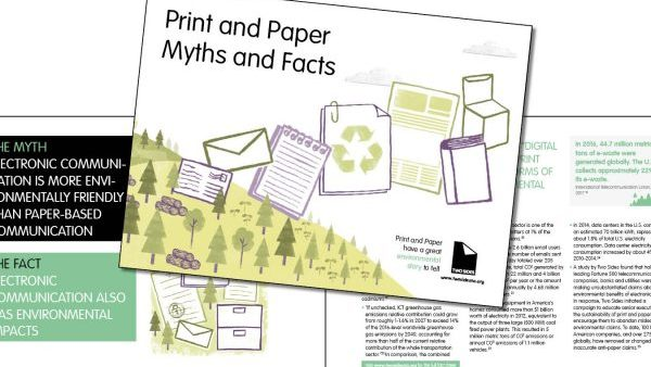 Members can co-brand our Myths and Facts Brochure and other materials