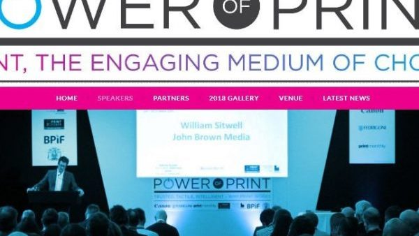 Power of Print Seminar 2018