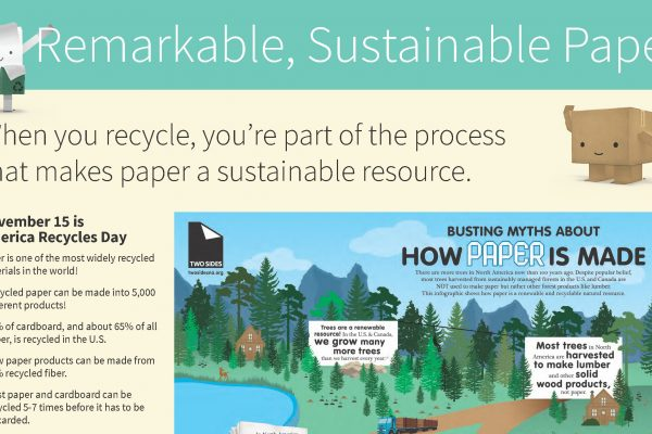 Remarkable, Sustainable Paper: a teacher's lesson plan by Young Minds Inspired