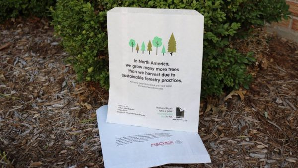 Paper Bags Proudly Displaying Their Great Sustainability Story