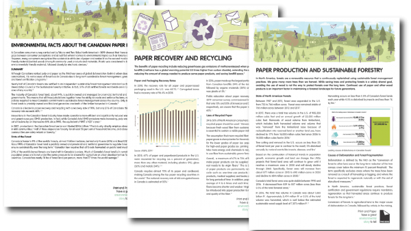 Get the facts on paper recycling, sustainable forestry practices and more – Two Sides releases new fact sheets