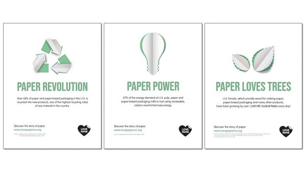 "Two Sides North America Launches ""Love Paper"" Campaign"