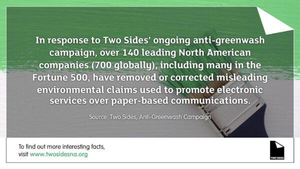 Paper Facts #3 – 140 companies have removed misleading environmental claims from their communications