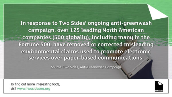 Paper Facts #3 – 125 companies have removed misleading environmental claims from their communications
